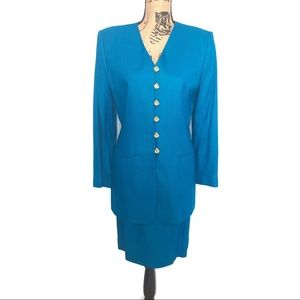 Vintage Casual Corner Womens 2-piece Suit 10